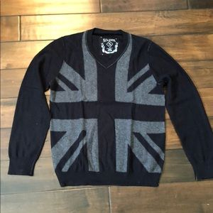 Guess British flag sweater - Small